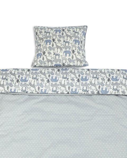 junior sengetøj dreng Junior sengetøj med dyr denim junior sengetøj dreng